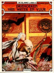 Blanke-Lama-6-Driehoeken-van-Water-en-Vuur-Hardcover