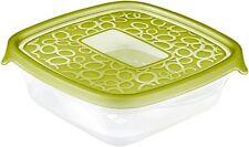 Curver Plastica Cibo Contenitori Confezione di 5. Bpa Libero, Lavastoviglie MICROONDE CONGELATORE