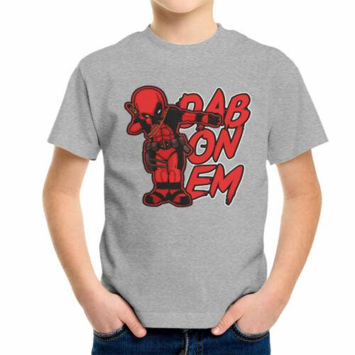 Deadpool Dab On Em Kid/'s T-Shirt
