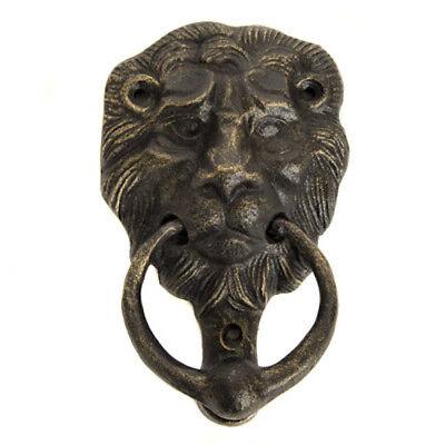 """7/"""" Cast Iron Green Verdigris Antique Bronze Door Handle Drawer Pull"""