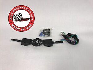 Bob's Machine Shop Steering Wheel Switch - Dual 305-340000