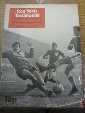 13/05/1974 Liverpool v Celtic [Ron Yeats Testimonial] (Slight creased). Item app