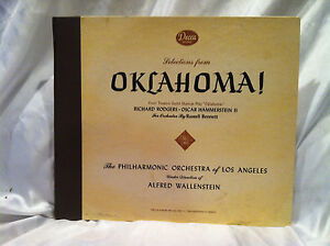 Selections-from-the-Theatre-Guild-Musical-Play-OKLAHOMA-Decca-Records-Two-LP-Set