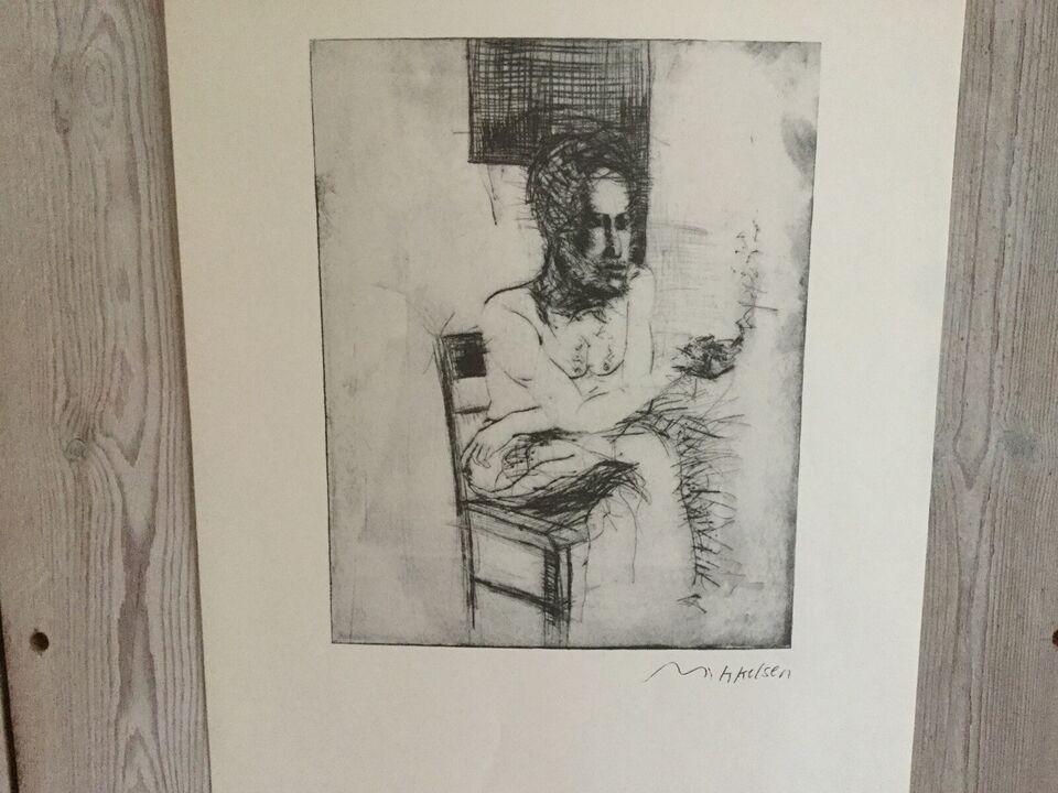 Kunsttryk, Lars Mikkelsen, b: 35 h: 52