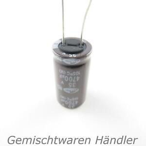 Marchi Elko 4700µf 35v CONDENSATORE Elettrolitici condensatore MF UF SAMWHA Capacitor