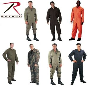 Details about Military Uniform Flight Suit Air Force Style Fighter Flight Coveralls Rothco