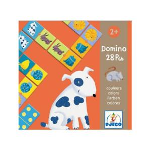 Djeco Domino Coloured Animals