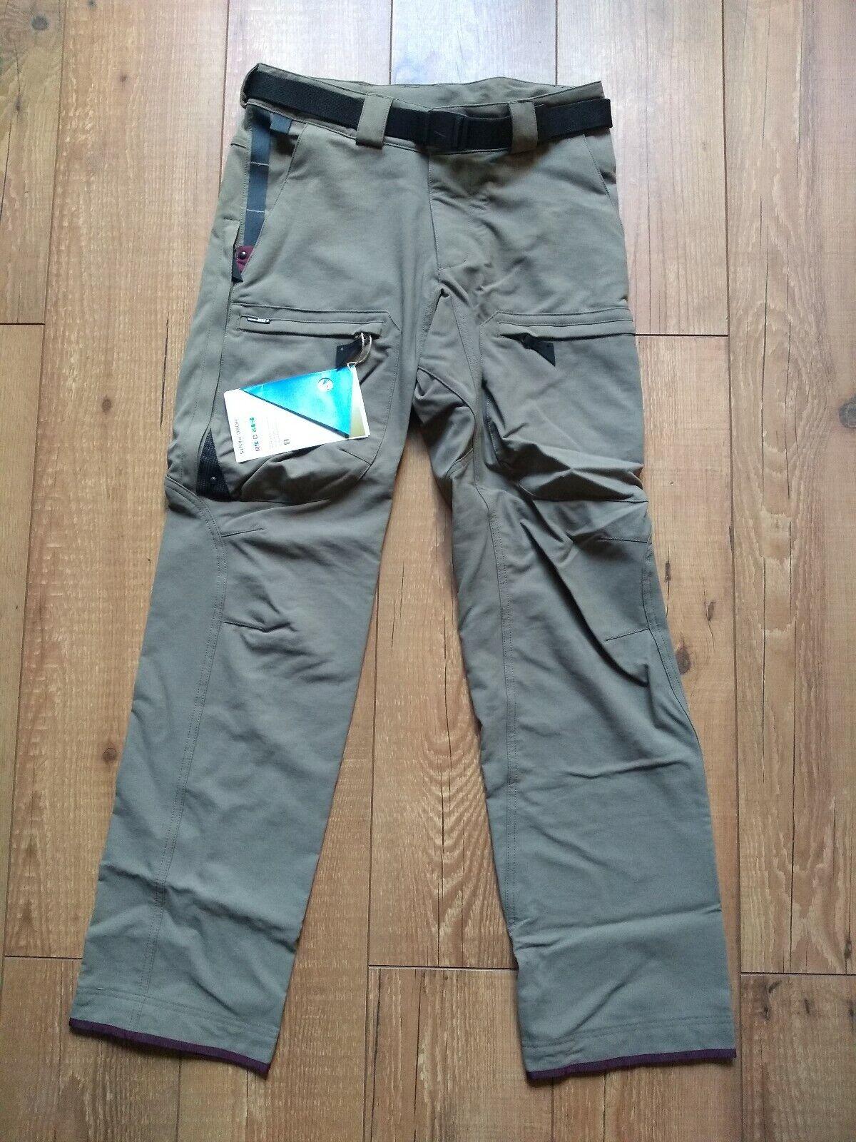 Klattermusen Horg  Women's Dark Khaki Pants Size M BNWT  70% off cheap