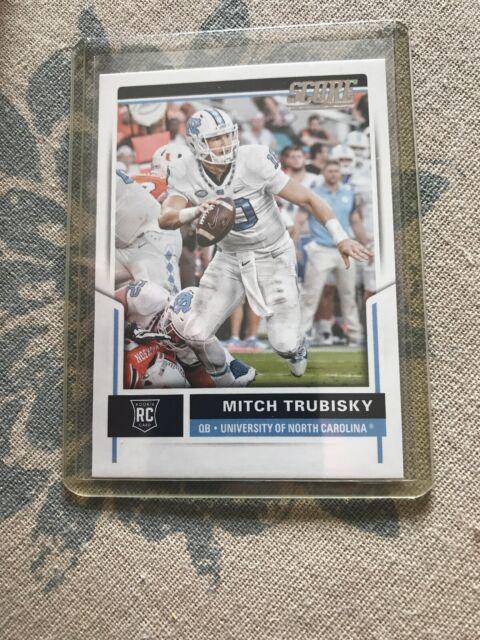 2017 Score Football #349 Mitchell Trubisky RC North ... North Carolina Football Score
