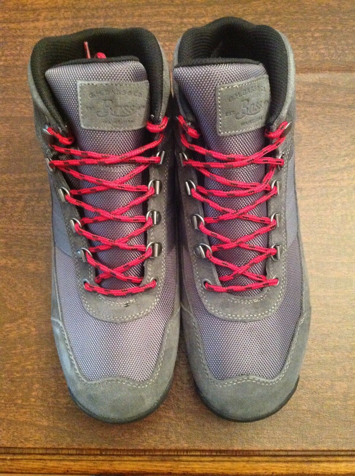 G. H. Bass & Co. Men's Grey Aspen Hikers Boots  Size: 11.5M   New in Box
