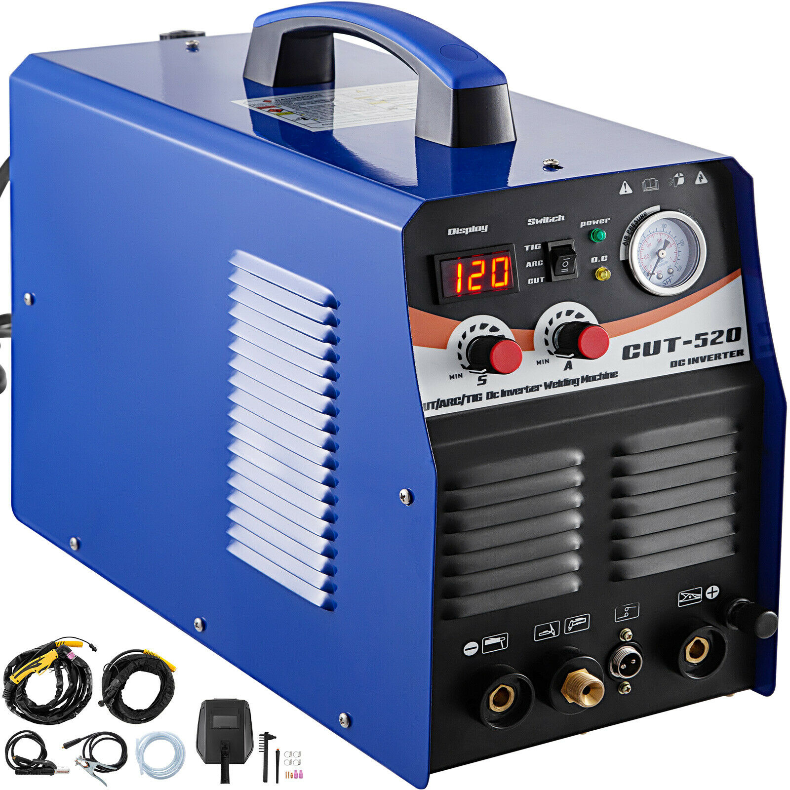 Plasma Cutter Tig Welder CT520 TIG MMA 3 In 1 Non-Touch Pilot Arc Torch 110/220V. Buy it now for 345.97
