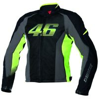 Dainese Vr46 Air-tex Mesh Motorcycle Jacket Valentino Rossi Summer Jacket