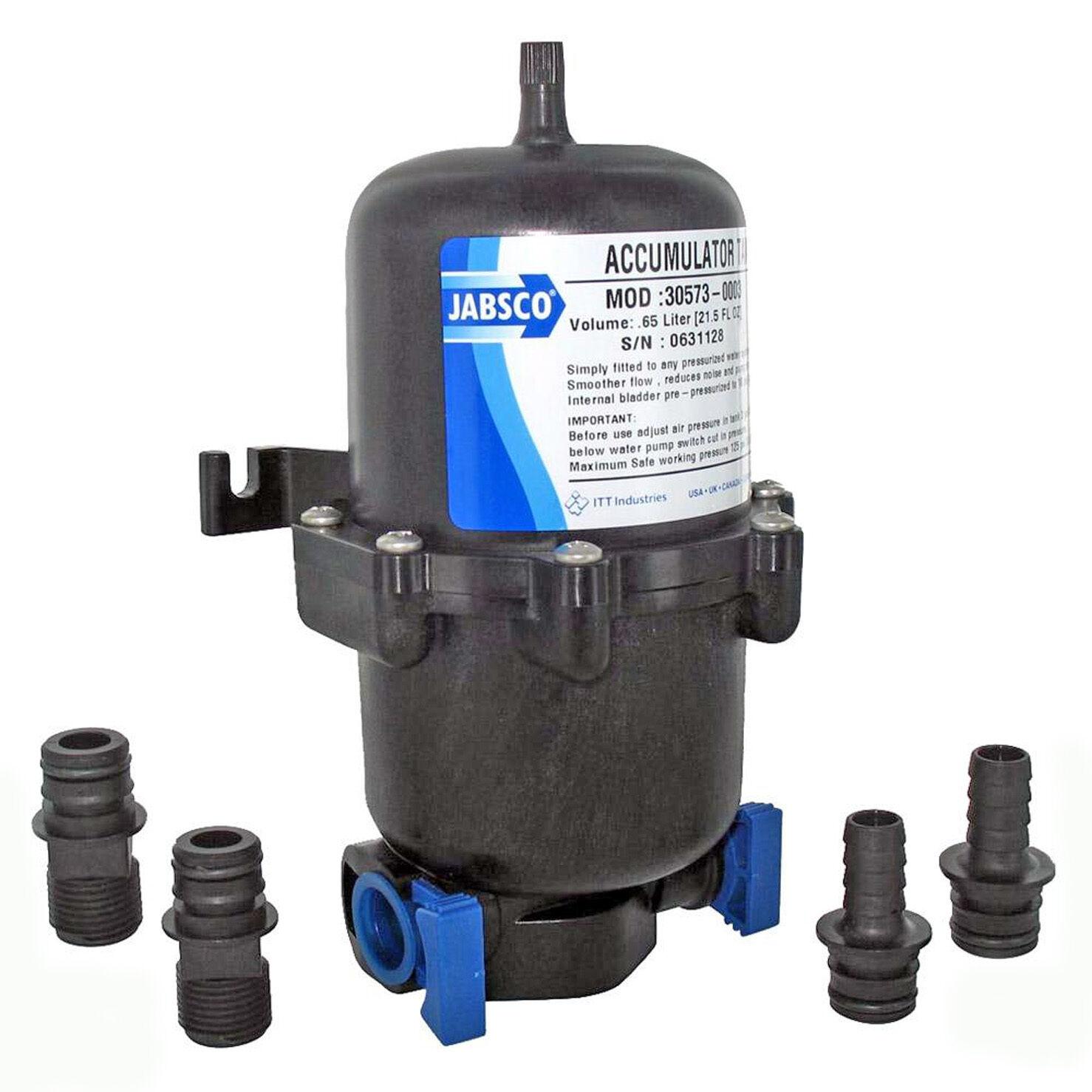 Akkumulator or Ausgleichsbehälter Jabsco 0.6 Liter ACC06