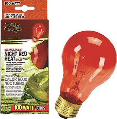 Zilla 09922 Night Red Incandescent Heat Bulb 100 Watt