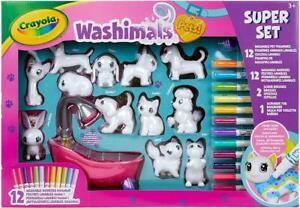CRAYOLA-74-7321-E-000-Washimals-Pets-Super-Set-Multicolore