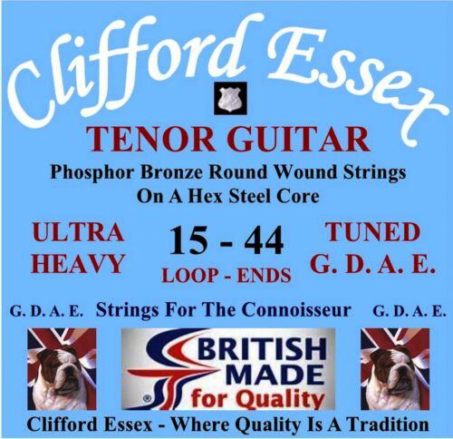 Im Clifford Essex Tenor Gitarre Saiten Gdae Siehe Einstellen Schwer Spurweiten