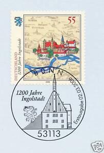 AgréAble Rfa 2006: Ingolstadt 1200 Ans! Nº 2526 Avec Bonner Ersttags-cachet Spécial! 1a!-rstempel! 1a!fr-fr Afficher Le Titre D'origine Artisanat D'Art