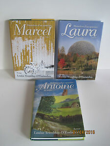 Memoires-d-039-un-quartier-by-Louise-Tremblay-D-039-Essiambre-Lot-of-3