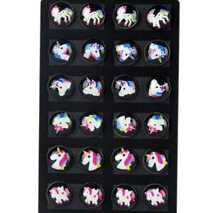 12-Pairs-Set-Unicorn-Ear-Stud-Earrings-Kids-Girl-Women-Round-Jewelry-Gift-Lssed