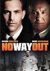 No Way out DVD R4 1987 Kevin Costner VGC