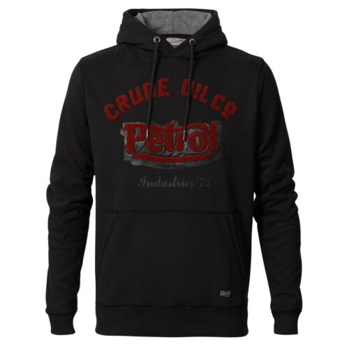 PETROL INDUSTRIES Männer Hoody Pullover Sweatshirt black SWH301