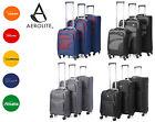 Aerolite Premium 4 Wheel Spinner Ultra Lightweight Suitcase Luggage Sets Cabin