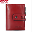 Men-Women-Genuine-Leather-Cowhide-Trifold-Wallet-Credit-Card-ID-Holder-Purse-New thumbnail 11