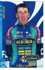CYCLISME carte cycliste DONATI MASSIMO équipe VINI CALDIROLA 2000