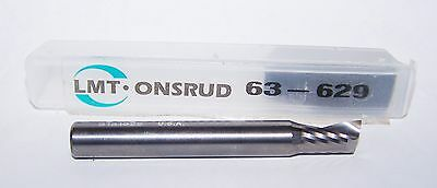 "3//8/"" .3750/"" CARBIDE SINGLE O FLUTE ENDMILLS FOR ACRYLIC ONSRUD 63-535"