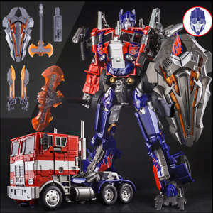 NEWM01 transformers Oversigee Movie Evaision Optimus Prime action figure ungar leksaker