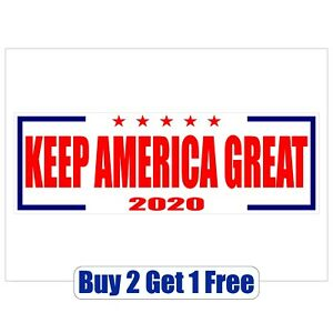 Keep-America-Great-DONALD-TRUMP-2020-Bumper-Sticker-MAGA-GoGostickers