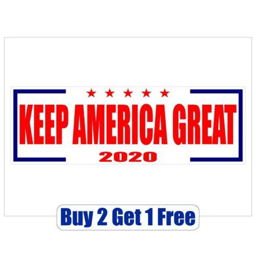 MAGA -GoGostickers Bumper Sticker Keep America Great DONALD TRUMP 2020