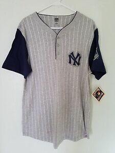 watch d7e78 0d5ae Details about BRAND NEW MLB Majestic NEW YORK YANKEES Jersey Mens(GRAY)