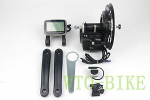 Electric-Bicycle-Motor-Conversion-Mid-Drive-Kit-e-Bike-36-48V-350-500W-tongsheng