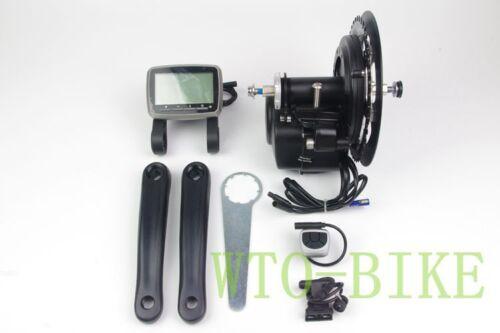 Electric Bicycle Motor Conversion Mid-Drive Kit e Bike 36//48V 350-500W tongsheng