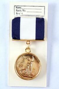 ROYAL NAVY GOLD MEDAL CAPTAIN THOMAS HARDY HMS VICTORY BATTLE OF TRAFALGAR