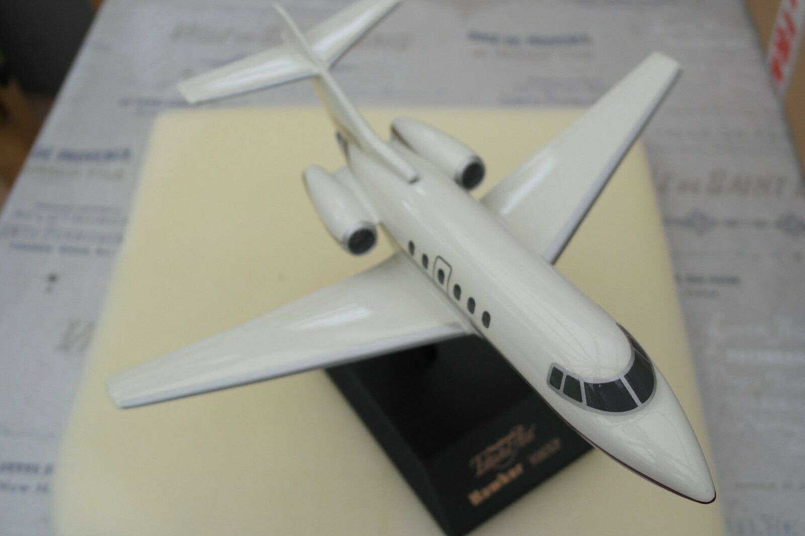 Corporativo construido 1 48 Hawker 800XP viaje chorro de aire