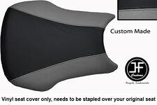 BLACK AND GREY VINYL CUSTOM FITS HONDA CBR 600 RR3 RR4 03-04 SEAT COVER ONLY