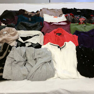 Womens-1X-Clothes-Lot-21-Piece-Mixed-Fall-Winter-Spring-Warm-Tops-Pants-Fashion