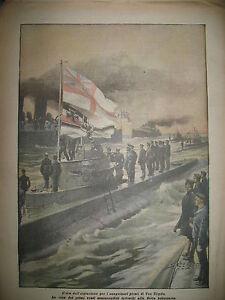 20-SOUS-MARINS-ALLEMANDS-A-LA-FLOTTE-BRITANNIQUE-LA-DOMENICA-DEL-CORRIERE-1918