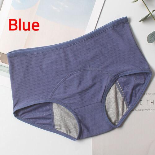 Women/'s Brief Physiological Pants High Waist Menstrual Panties Underwear L-5XL
