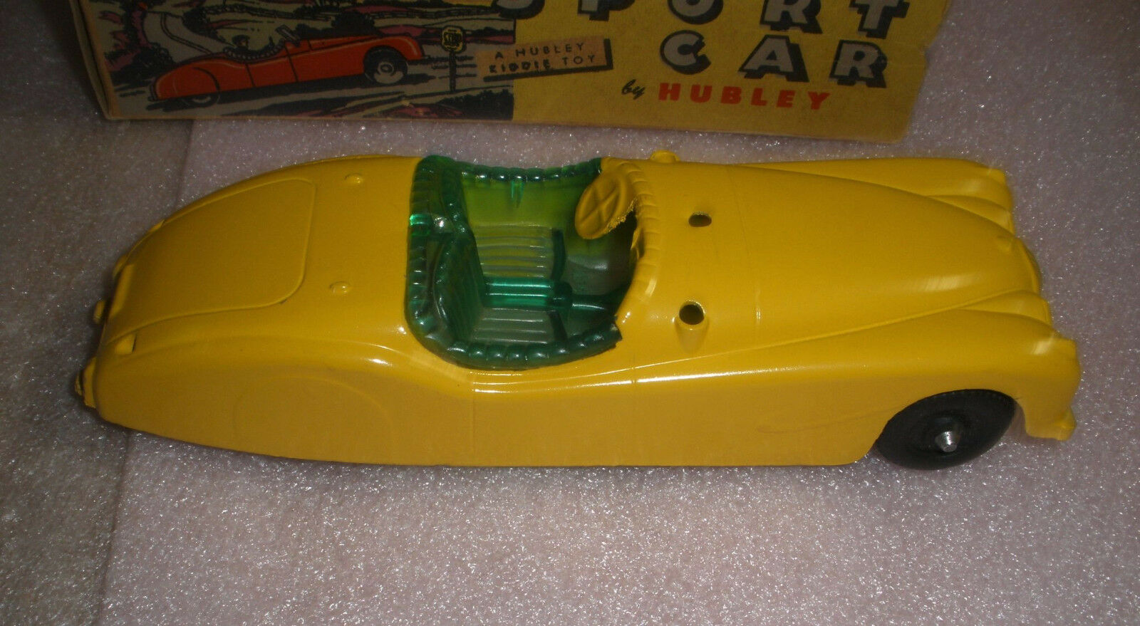 Hubbley Hubbley Hubbley Metal Sport Car with box nice condition 354936