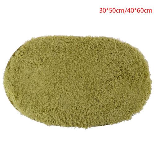 Absorbent Soft Bathroom Bedroom Floor Non-slip Mat Memory Foam Bath Shower R TPI