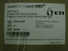 Nib 25 Suits Like Tychem Comfort Guard Sms Withhood Amp Boots Size 6x Reduced