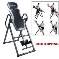 Inversion Table Relief Stable Back Therapy Gravity Pain Medical Exercise Chair