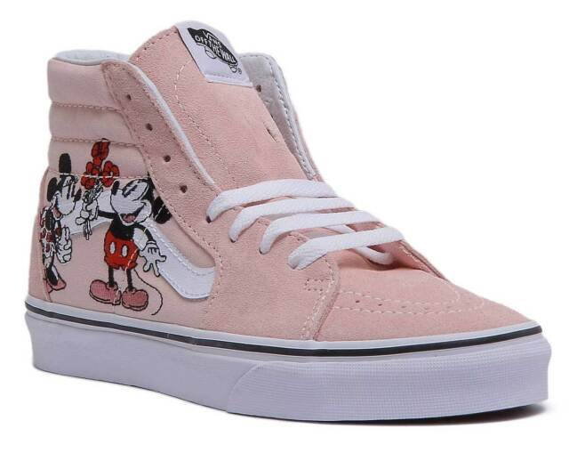 Women's Mickey and Minnie Converse | Mickey shoes, Mickey