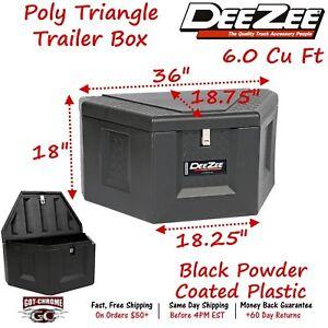 Dee Zee Poly Triangle Trailer Box Universal #DZ91717P