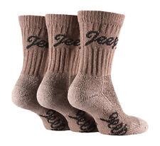 3 pairs Ladies Jeep Terrain Cushion sole Cotton Hiking Socks 4-7uk Navy Blue