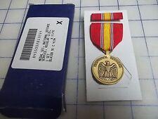 military 1991 medal set national defense service regular size NEW ribbon army