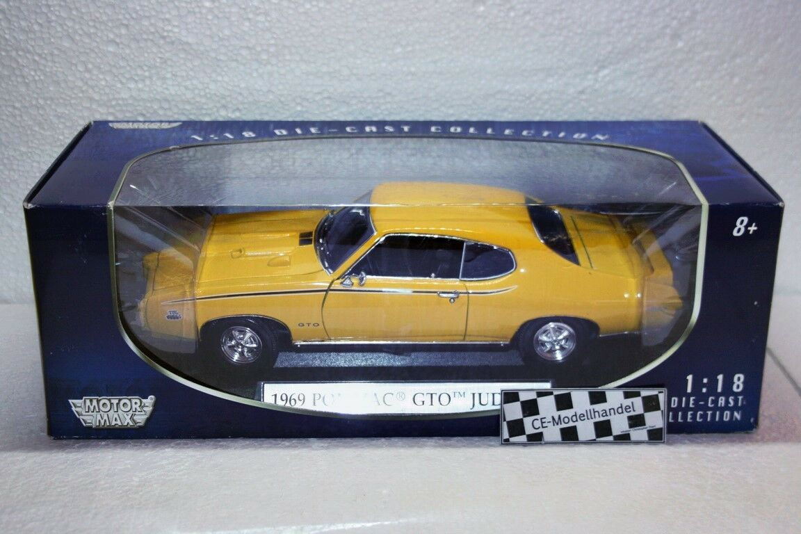 PONTIAC GTO GTO GTO Judge Coupé 1969 NUEVO Motor Max 1 18 afffc6
